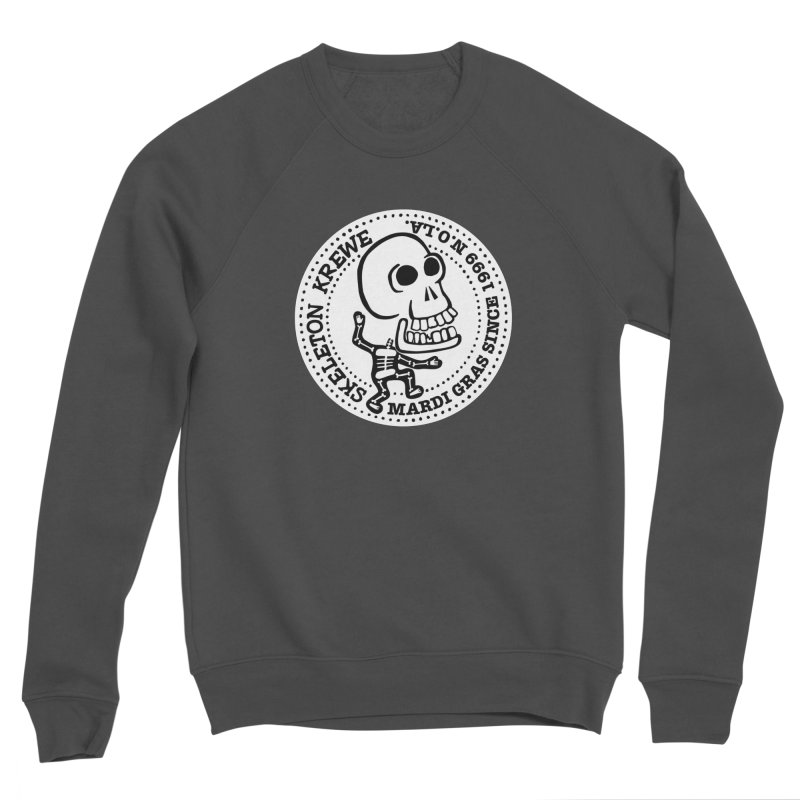 Skeleton Krewe Large Logo Men's Sponge Fleece Sweatshirt by Skeleton Krewe's Shop