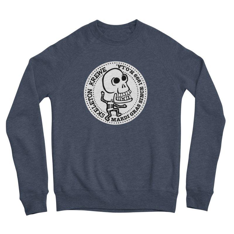 Skeleton Krewe Large Logo Men's Sponge Fleece Sweatshirt by Skeleton Krewe's Shop