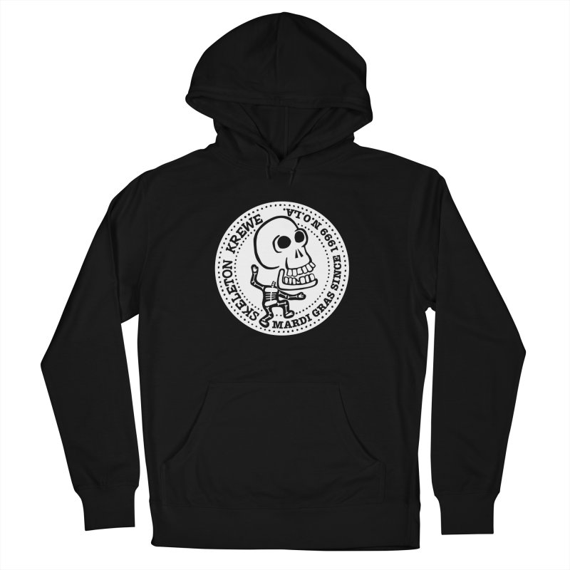 Skeleton Krewe Large Logo Women's French Terry Pullover Hoody by Skeleton Krewe's Shop