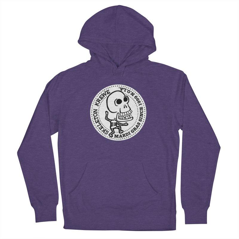 Skeleton Krewe Large Logo Men's French Terry Pullover Hoody by Skeleton Krewe's Shop