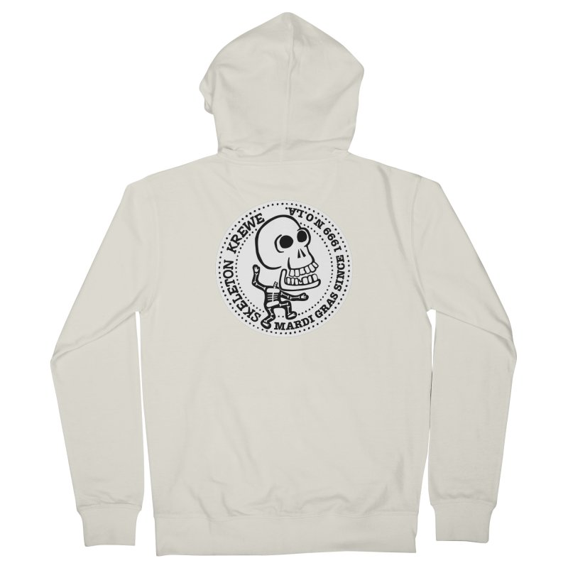 Skeleton Krewe Large Logo Women's Zip-Up Hoody by Skeleton Krewe's Shop