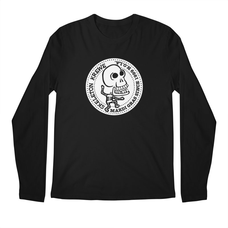 Skeleton Krewe Large Logo Men's Regular Longsleeve T-Shirt by Skeleton Krewe's Shop