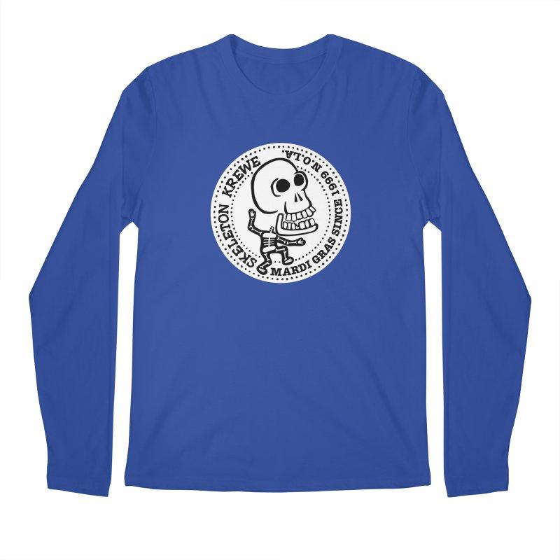 Skeleton Krewe Large Logo Men's Regular Longsleeve T-Shirt by Skeleton Krewe's Shop