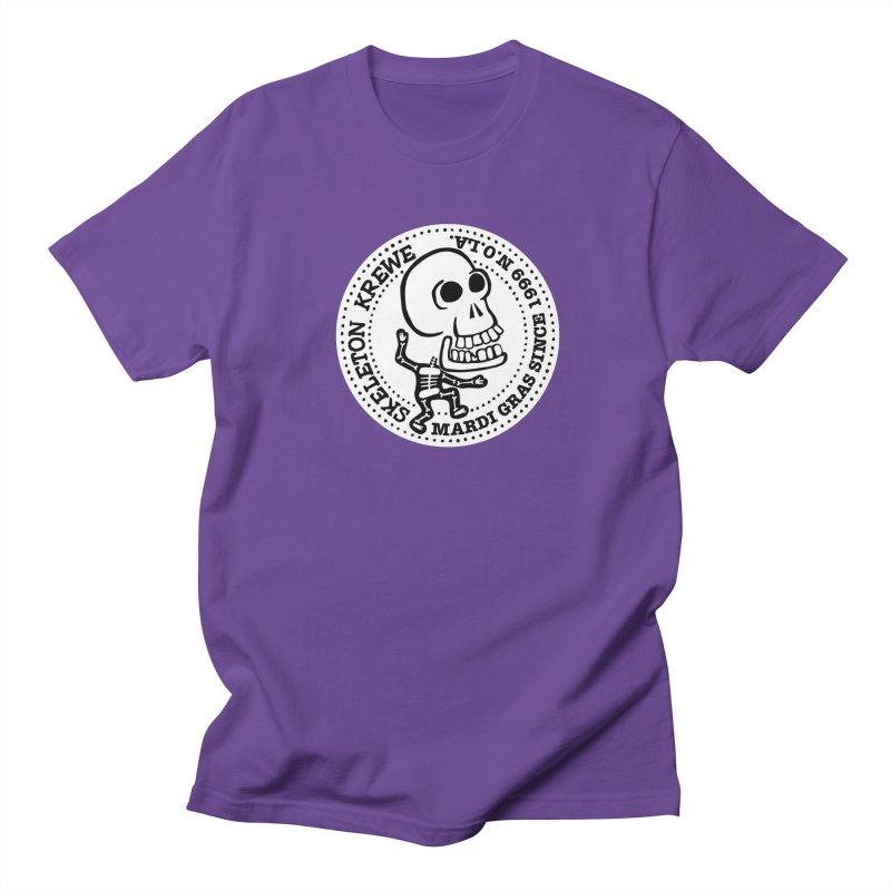 Skeleton Krewe Large Logo Women's Regular Unisex T-Shirt by Skeleton Krewe's Shop