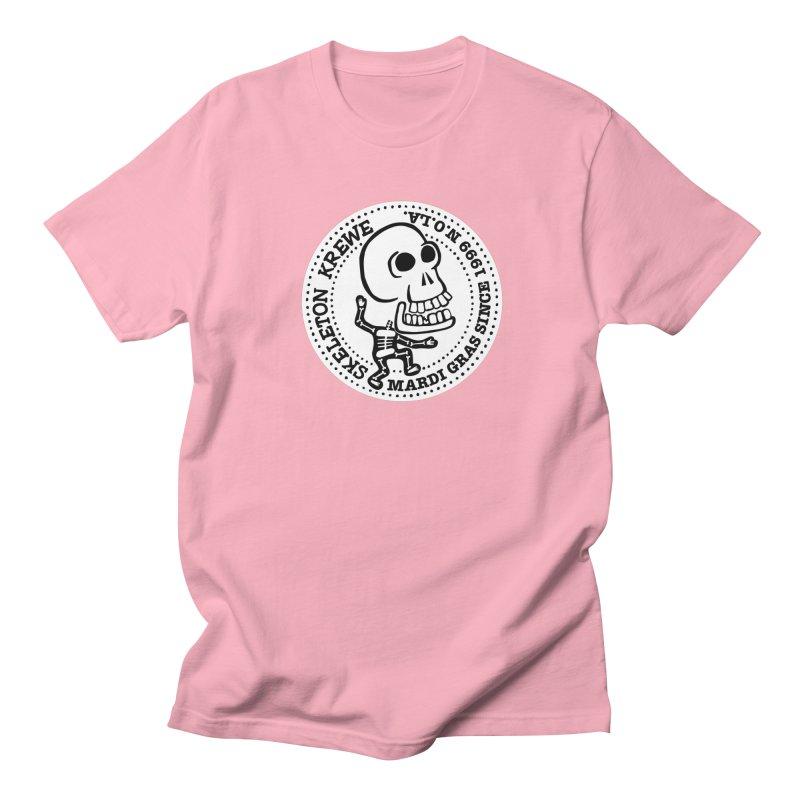 Skeleton Krewe Large Logo Men's Regular T-Shirt by Skeleton Krewe's Shop