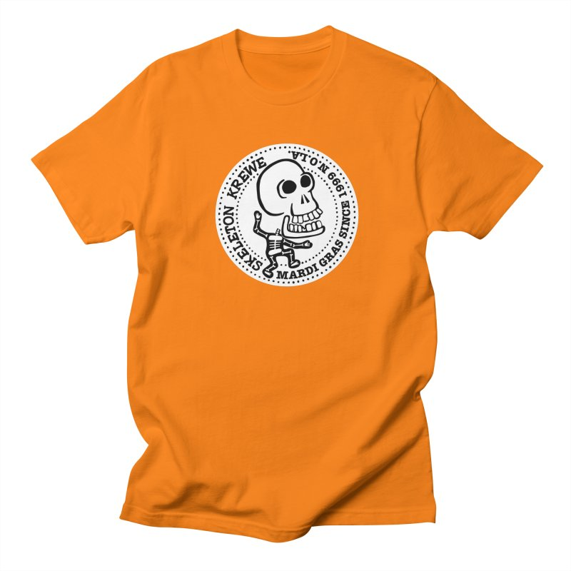 Skeleton Krewe Large Logo Women's Regular Unisex T-Shirt by Skeleton Krewe's Shop