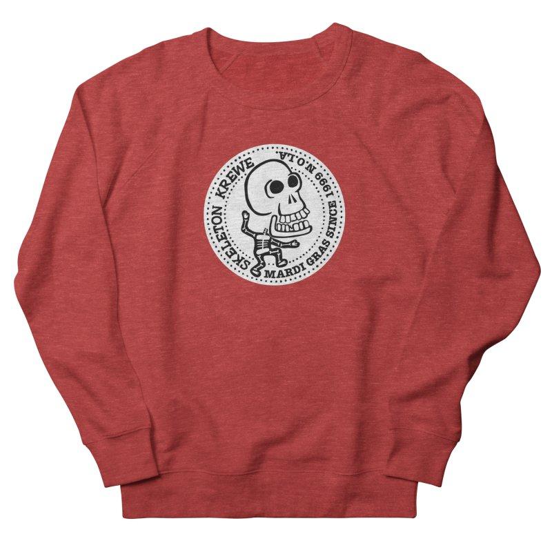 Skeleton Krewe Large Logo Men's French Terry Sweatshirt by Skeleton Krewe's Shop