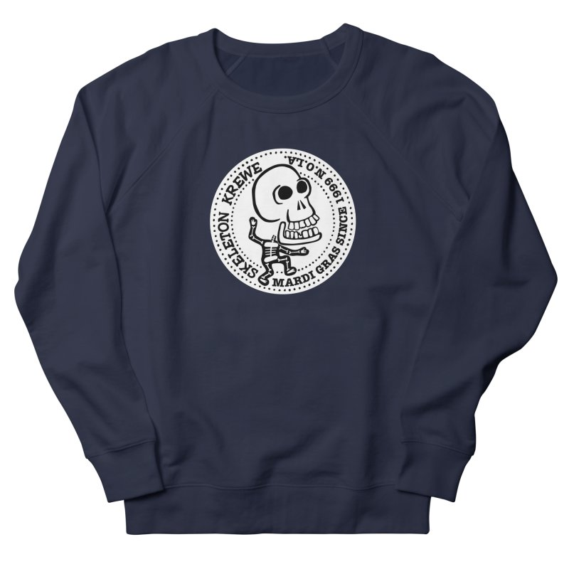 Skeleton Krewe Large Logo Men's Sweatshirt by Skeleton Krewe's Shop