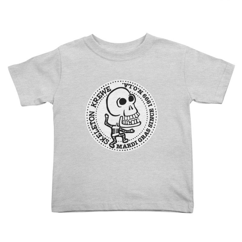 Skeleton Krewe Large Logo Kids Toddler T-Shirt by Skeleton Krewe's Shop