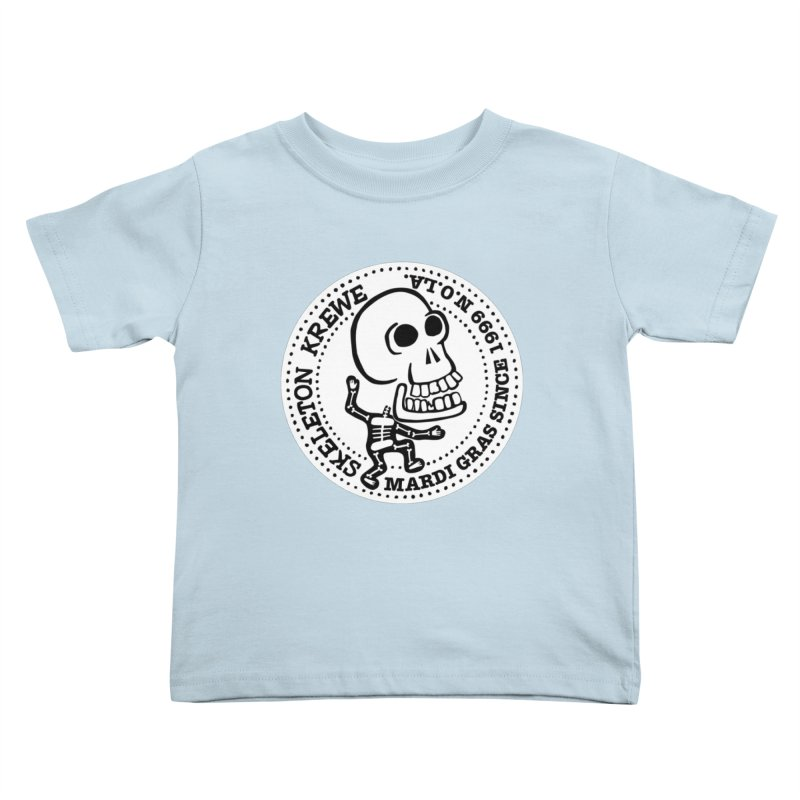 Skeleton Krewe Large Logo Kids Toddler T-Shirt by Skeleton Krewe's Shop