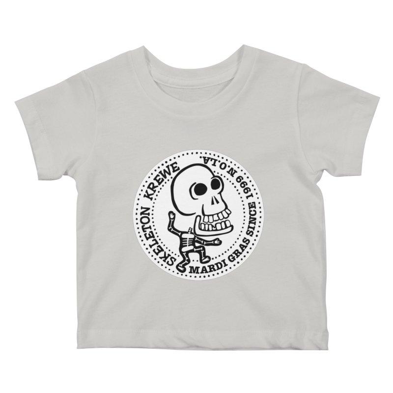 Skeleton Krewe Large Logo Kids Baby T-Shirt by Skeleton Krewe's Shop