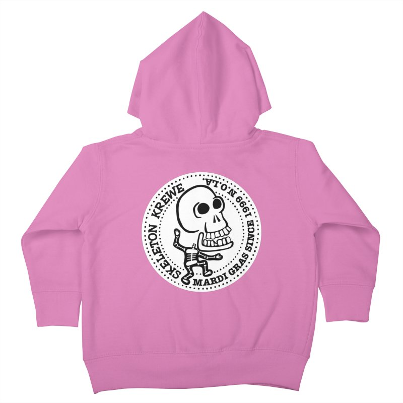 Skeleton Krewe Large Logo Kids Toddler Zip-Up Hoody by Skeleton Krewe's Shop