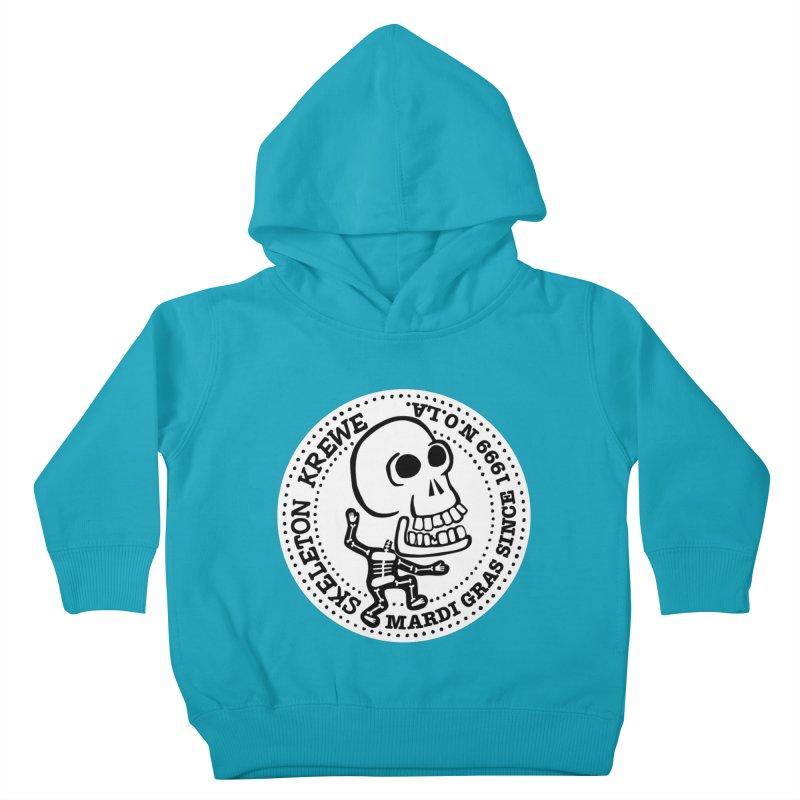 Skeleton Krewe Large Logo Kids Toddler Pullover Hoody by Skeleton Krewe's Shop