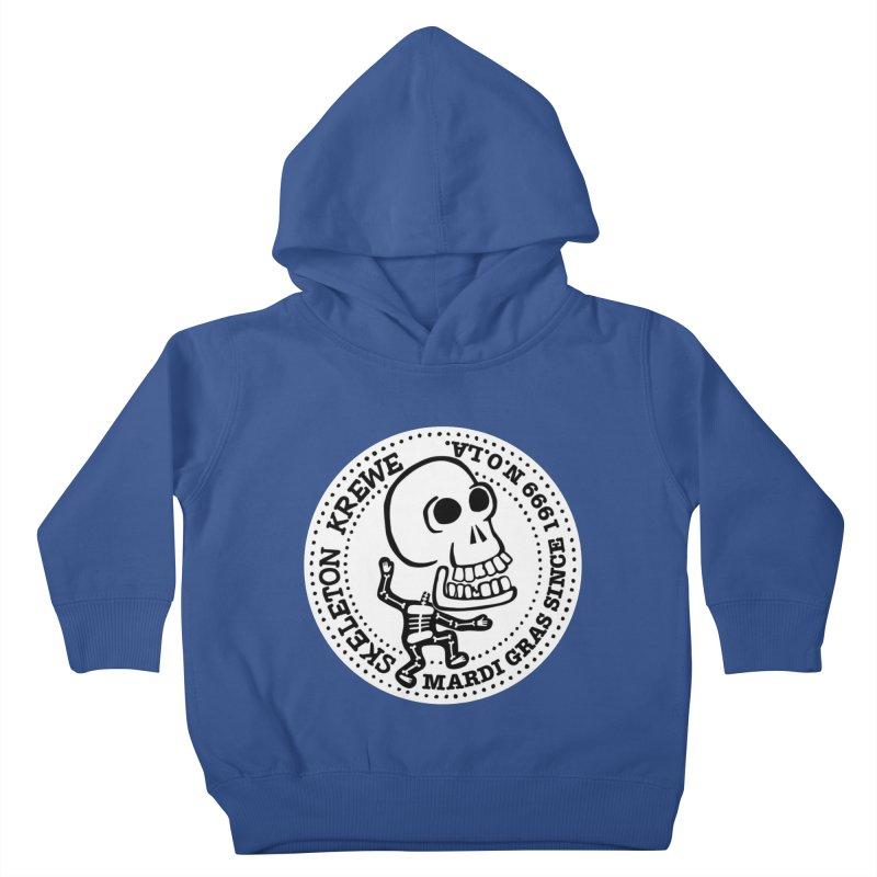Skeleton Krewe Large Logo Kids Toddler Pullover Hoody by Skeleton Krewe's Shop