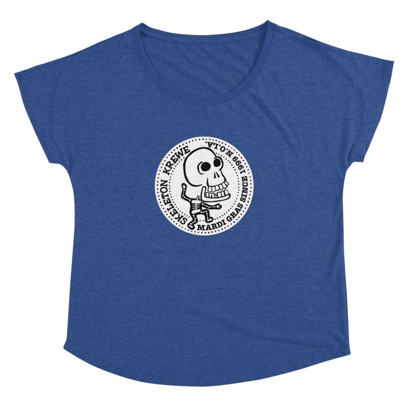 Skeleton Krewe Large Logo Women's Scoop Neck by Skeleton Krewe's Shop