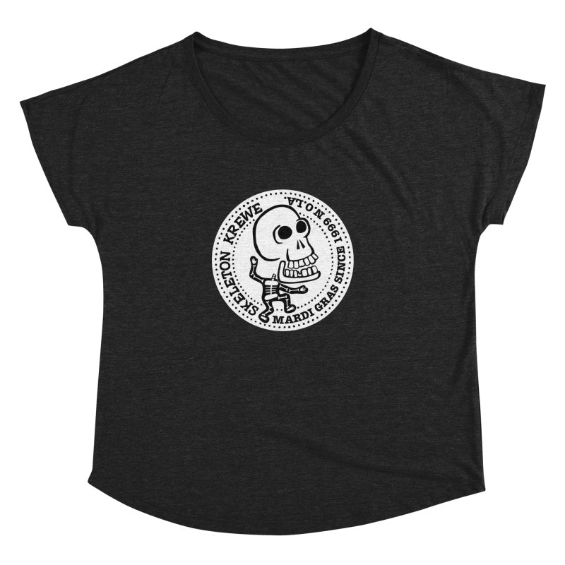 Skeleton Krewe Large Logo Women's Dolman by Skeleton Krewe's Shop