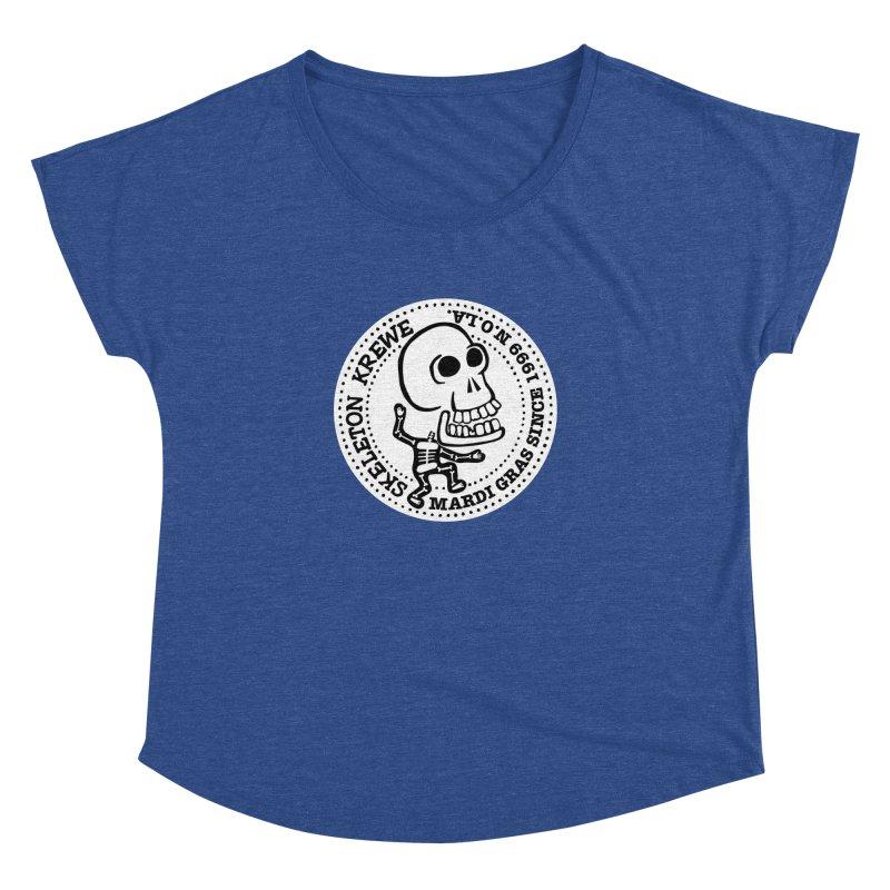 Skeleton Krewe Large Logo Women's Dolman by Skeleton Krewe's Shop