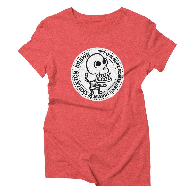Skeleton Krewe Large Logo Women's Triblend T-Shirt by Skeleton Krewe's Shop