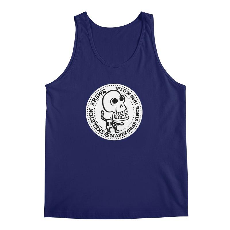 Skeleton Krewe Large Logo Men's Regular Tank by Skeleton Krewe's Shop