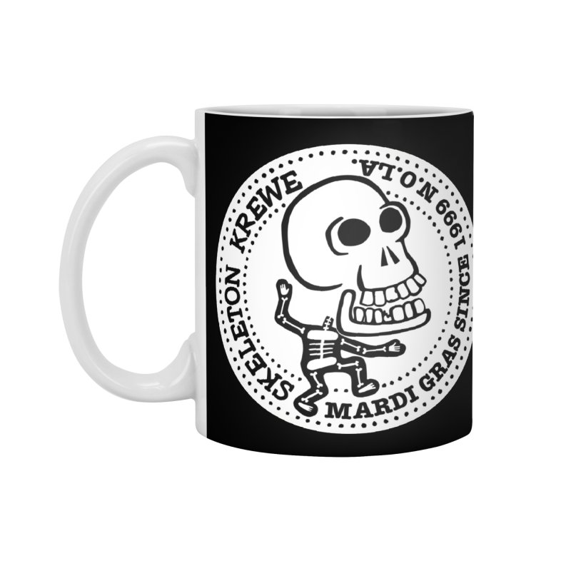 Skeleton Krewe Large Logo Accessories Standard Mug by Skeleton Krewe's Shop