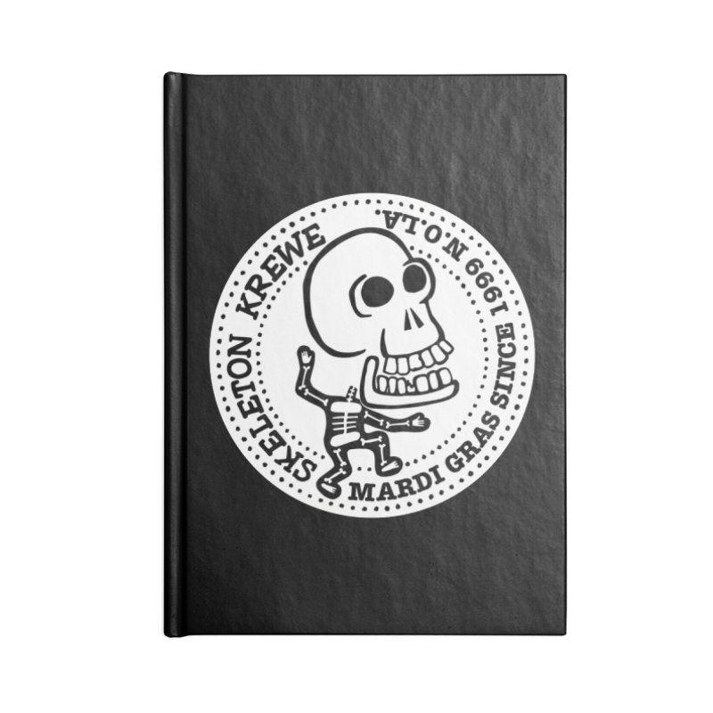 Skeleton Krewe Large Logo Accessories Lined Journal Notebook by Skeleton Krewe's Shop