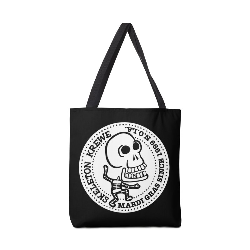 Skeleton Krewe Large Logo Accessories Tote Bag Bag by Skeleton Krewe's Shop