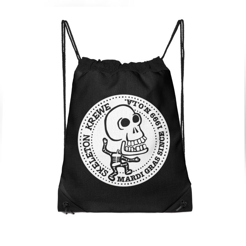 Skeleton Krewe Large Logo Accessories Bag by Skeleton Krewe's Shop