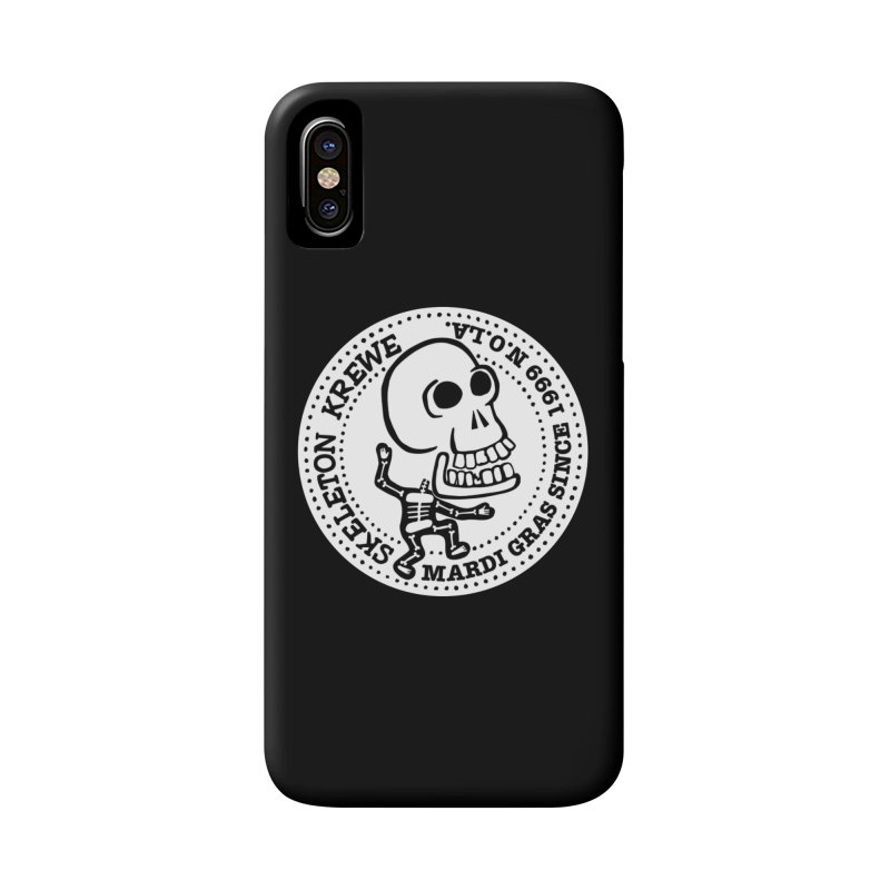 Skeleton Krewe Large Logo Accessories Phone Case by Skeleton Krewe's Shop