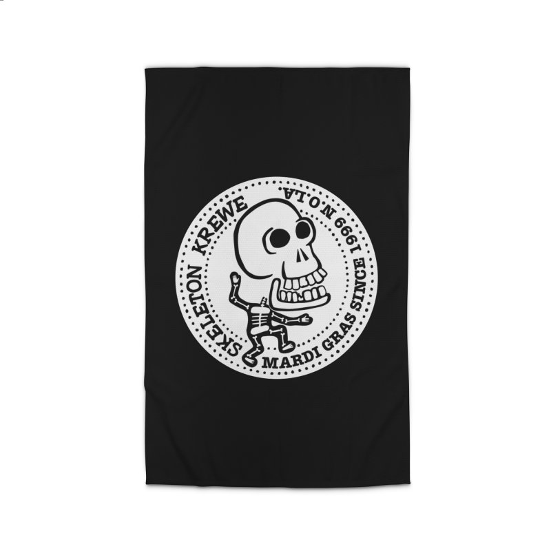 Skeleton Krewe Large Logo Home Rug by Skeleton Krewe's Shop