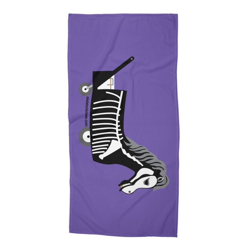 Skelly Accessories Beach Towel by Skeleton Krewe's Shop