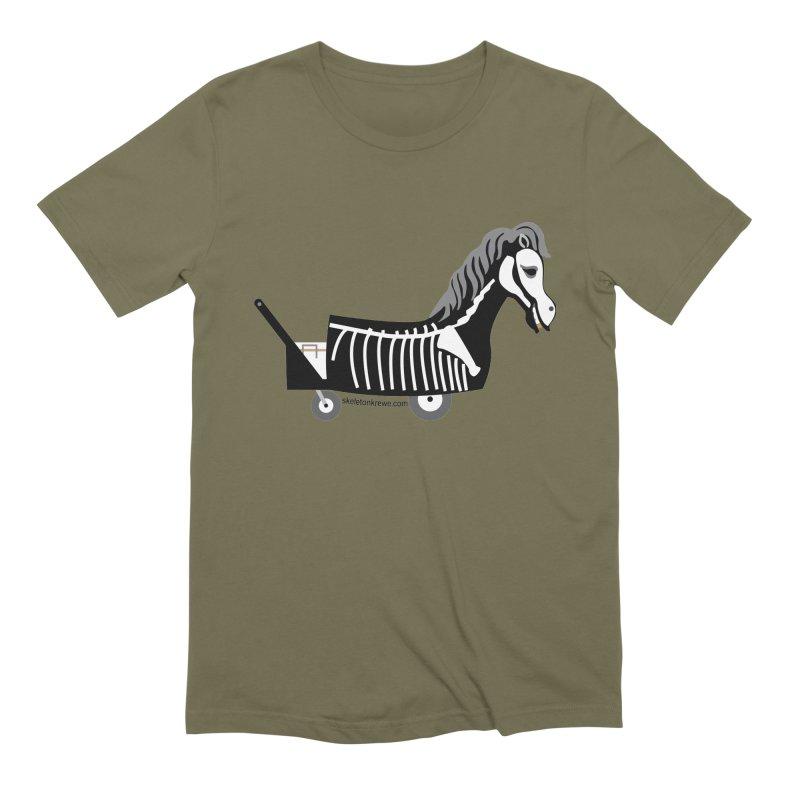 Skelly Men's Extra Soft T-Shirt by Skeleton Krewe's Shop