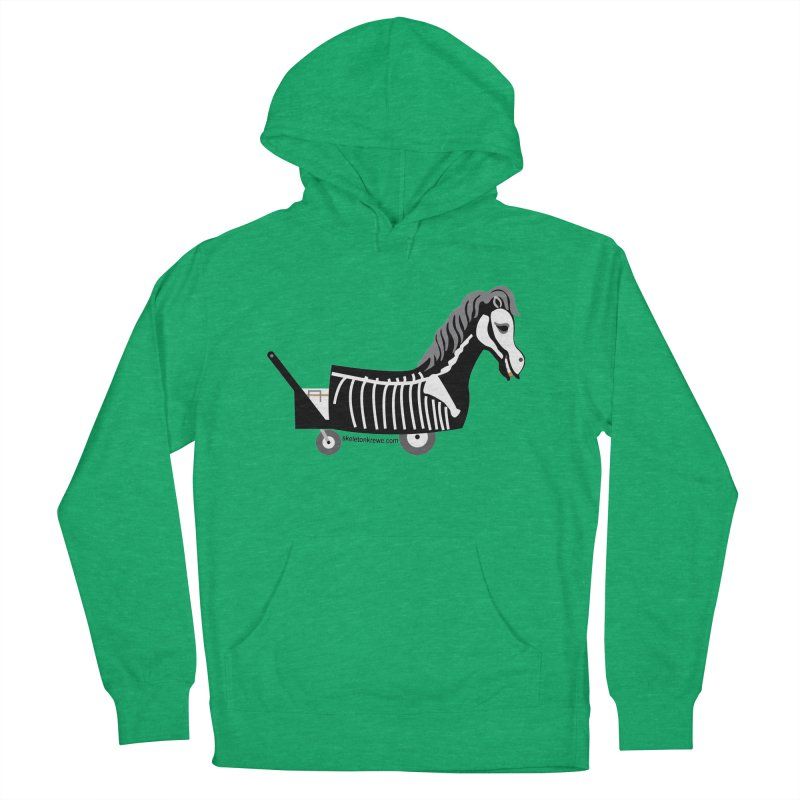 Skelly Women's French Terry Pullover Hoody by Skeleton Krewe's Shop