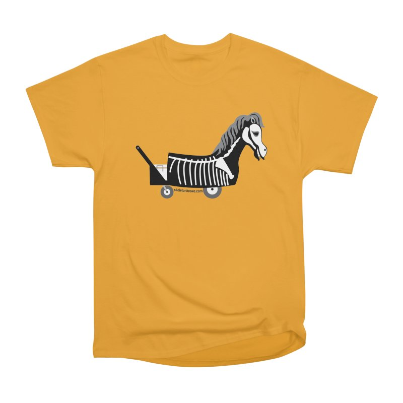 Skelly Men's Heavyweight T-Shirt by Skeleton Krewe's Shop