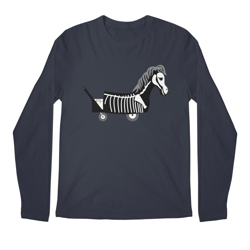 Skelly Men's Regular Longsleeve T-Shirt by Skeleton Krewe's Shop