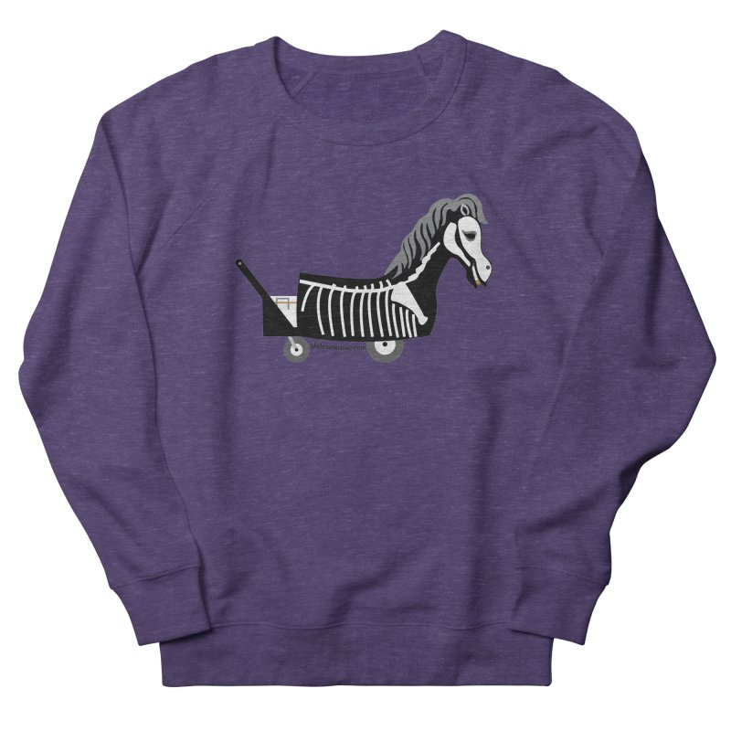 Skelly Women's French Terry Sweatshirt by Skeleton Krewe's Shop