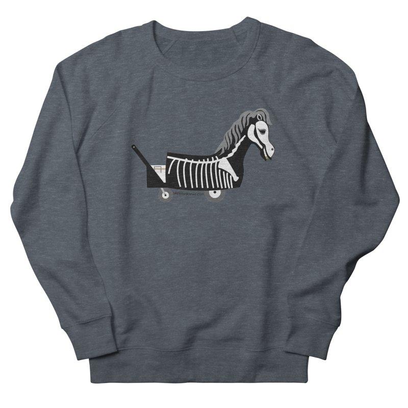 Skelly Men's French Terry Sweatshirt by Skeleton Krewe's Shop