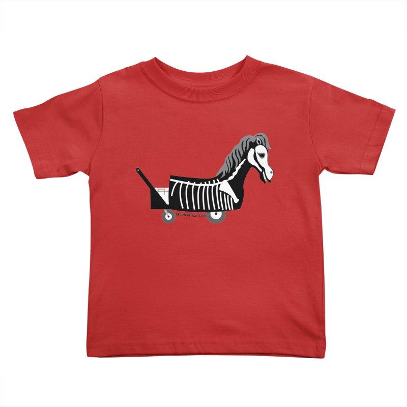 Skelly Kids Toddler T-Shirt by Skeleton Krewe's Shop