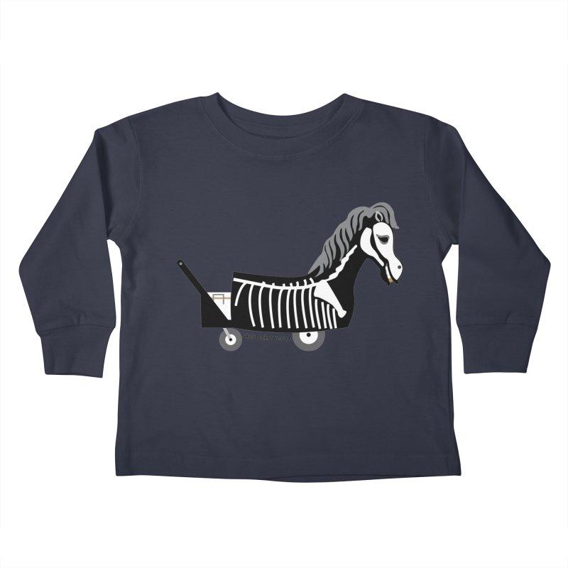 Skelly Kids Toddler Longsleeve T-Shirt by Skeleton Krewe's Shop