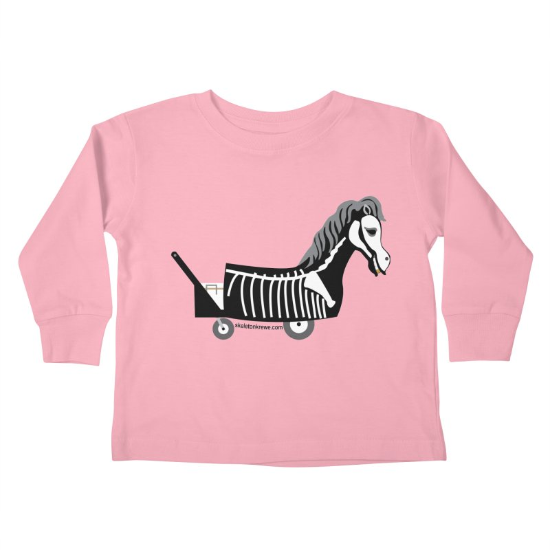 Skelly Kids Toddler Longsleeve T-Shirt by Skeleton Krewe's Shop