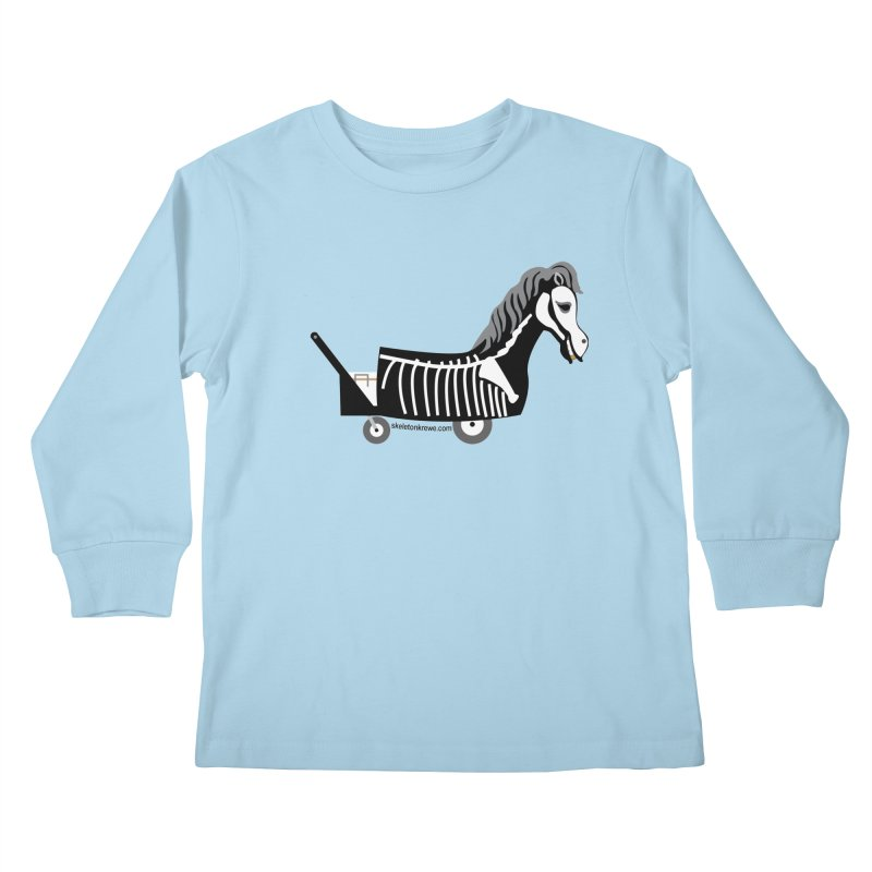 Skelly Kids Longsleeve T-Shirt by Skeleton Krewe's Shop
