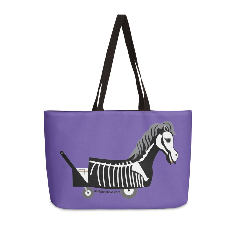 Skelly Accessories Weekender Bag Bag by Skeleton Krewe's Shop