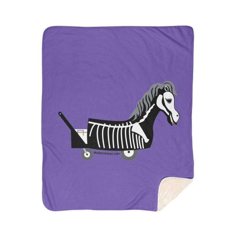 Skelly Home Blanket by Skeleton Krewe's Shop