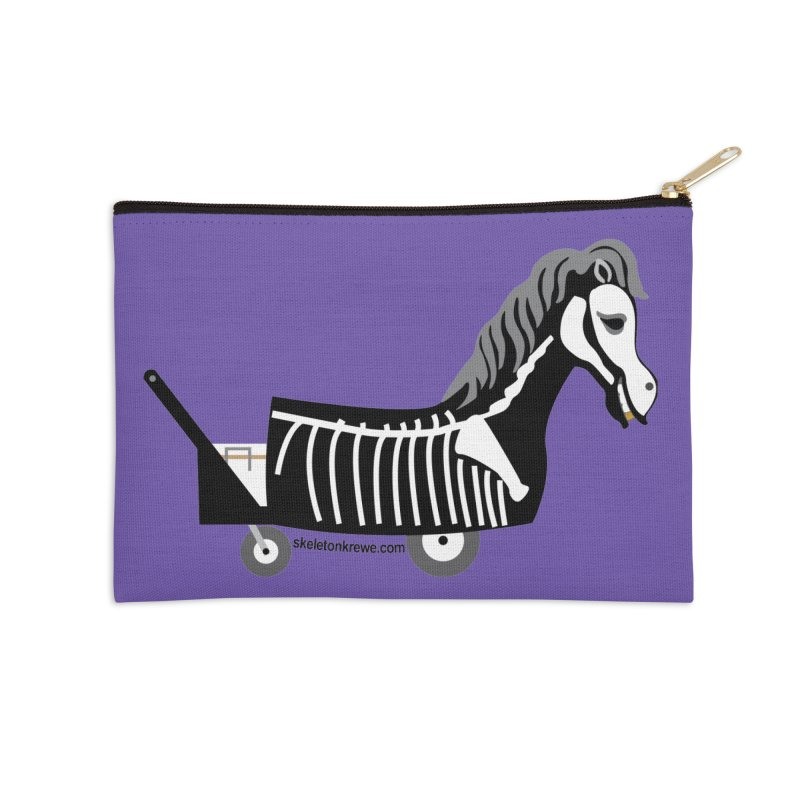 Skelly Accessories Zip Pouch by Skeleton Krewe's Shop