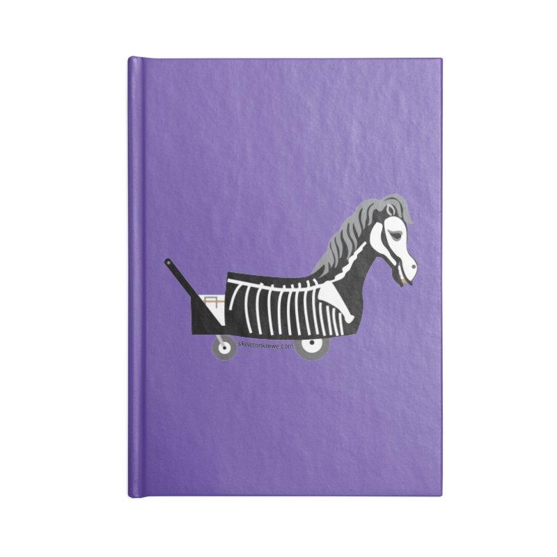 Skelly Accessories Blank Journal Notebook by Skeleton Krewe's Shop