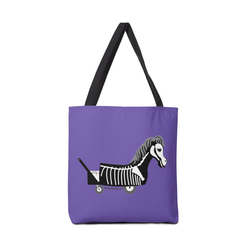 Skelly Accessories Tote Bag Bag by Skeleton Krewe's Shop