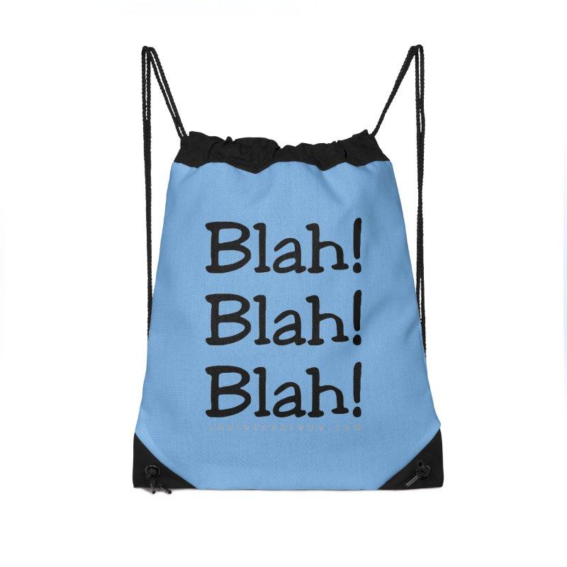 Blah! Blah! Blah! Accessories Bag by Skeleton Krewe's Shop