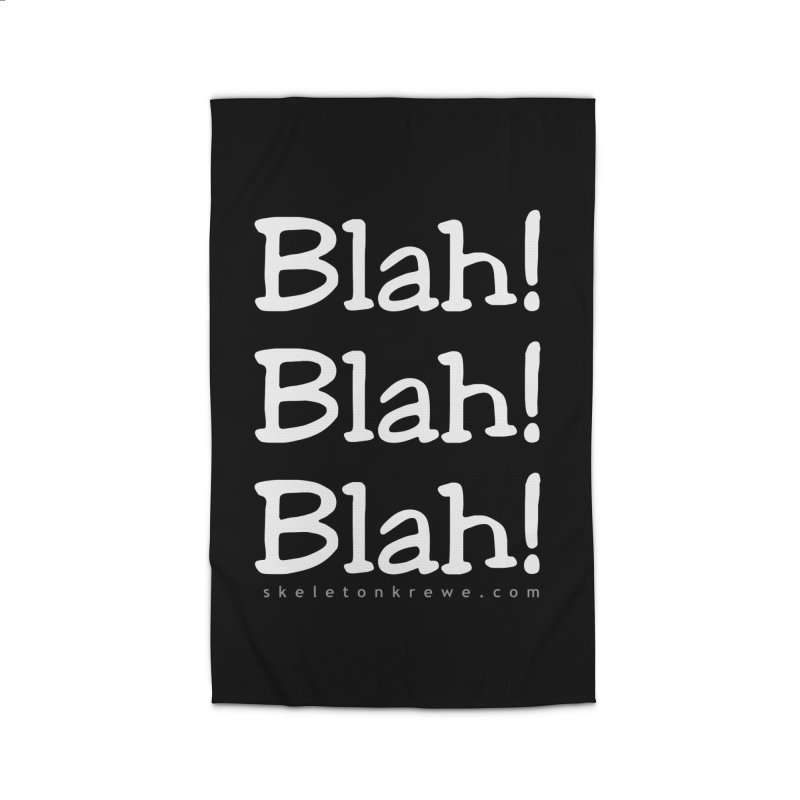 Blah! Blah! Blah! Home Rug by Skeleton Krewe's Shop
