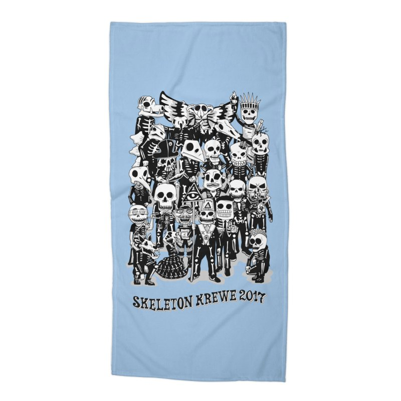 Skeleton Krewe 2017 Accessories Beach Towel by Skeleton Krewe's Shop