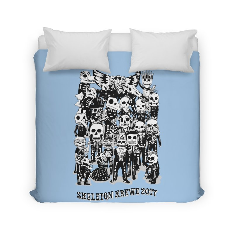 Skeleton Krewe 2017 Home Duvet by Skeleton Krewe's Shop