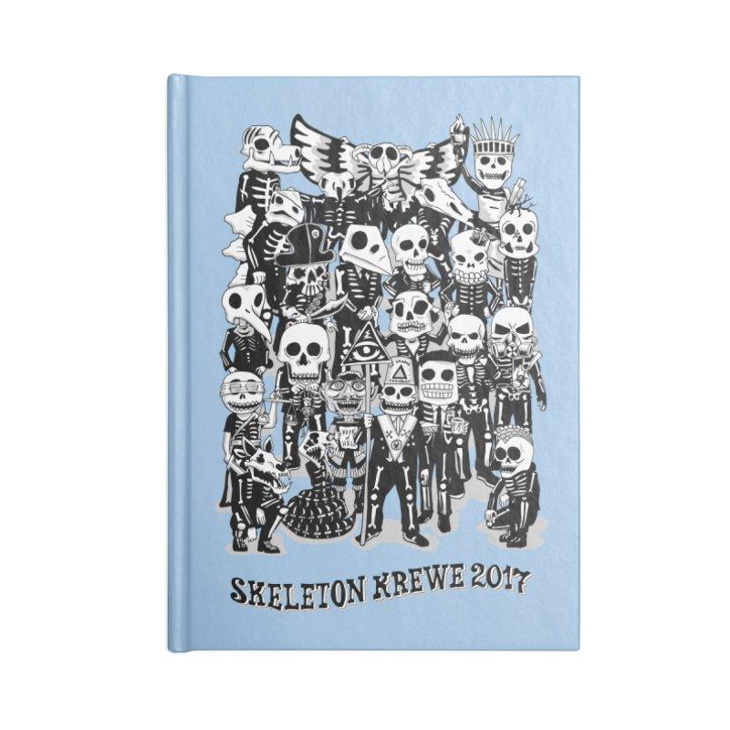 Skeleton Krewe 2017 Accessories Lined Journal Notebook by Skeleton Krewe's Shop
